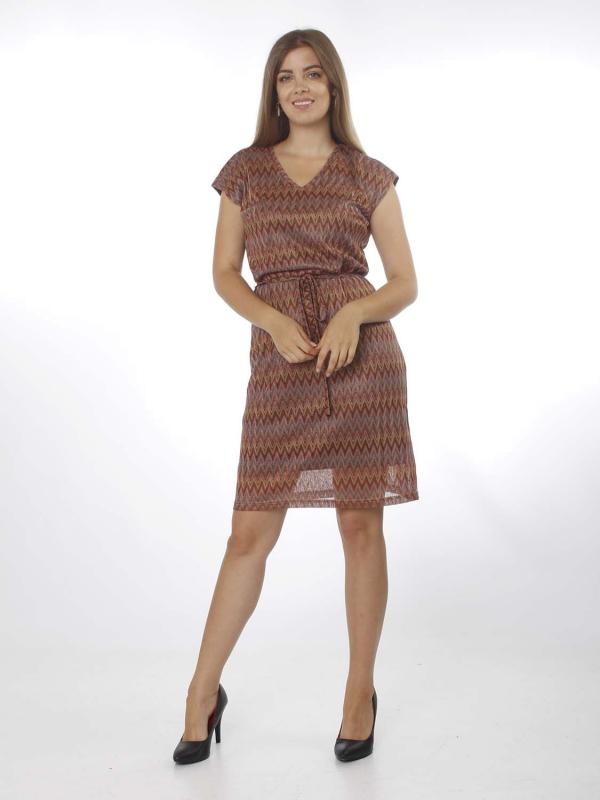"MINUS Damen Kleid - ""Vafla knit dress brown sugar"""
