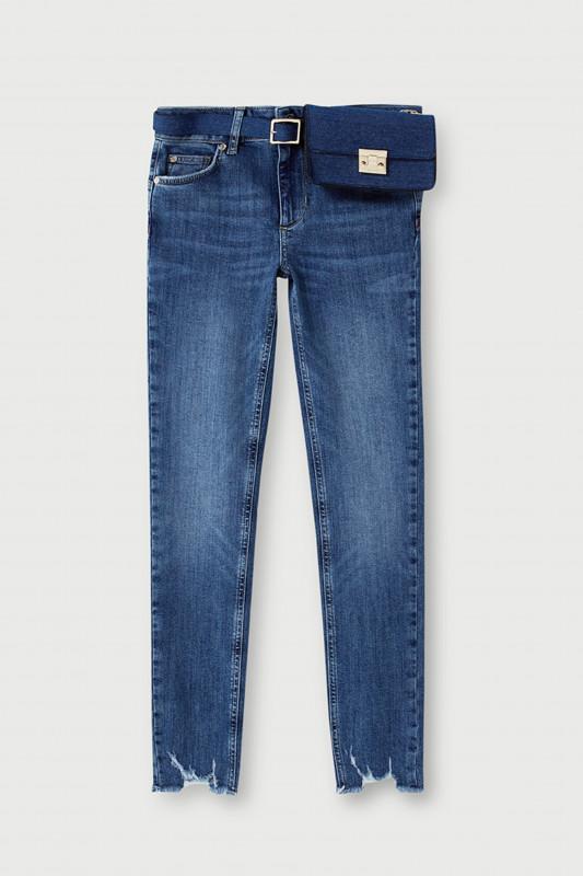 """LIU JO Damen Jeans - """"B.up ideal reg.w. blue dazed"""""""