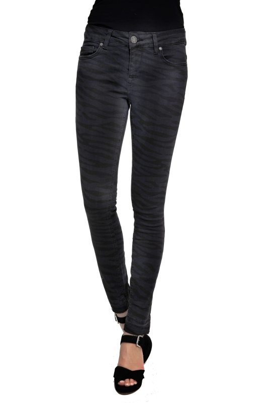 "ZHRILL Damen Jeans - ""Daffy black W4068"""