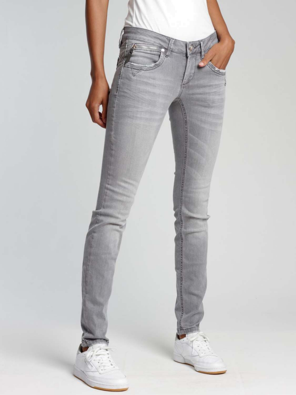 "GANG Damen Jeans - ""Nikita Greseda denim koala grey"""