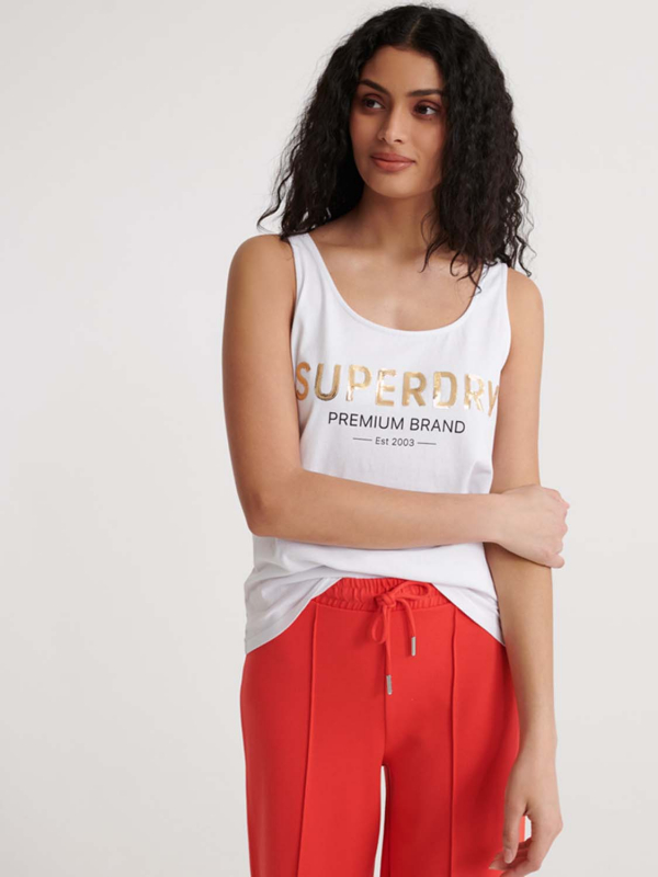"SUPERDRY Damen Top - ""Premium Sequin Classic Vest"""