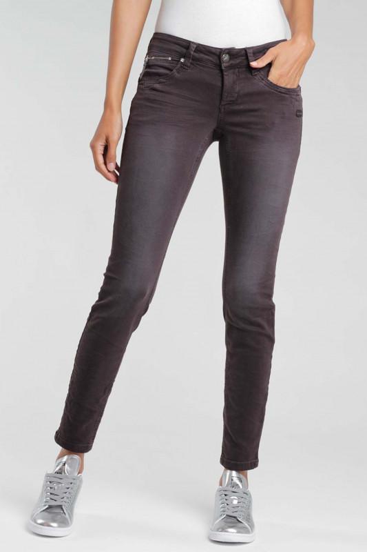 "Gang Damen Jeans - ""Nikita vint brown espresso old"""