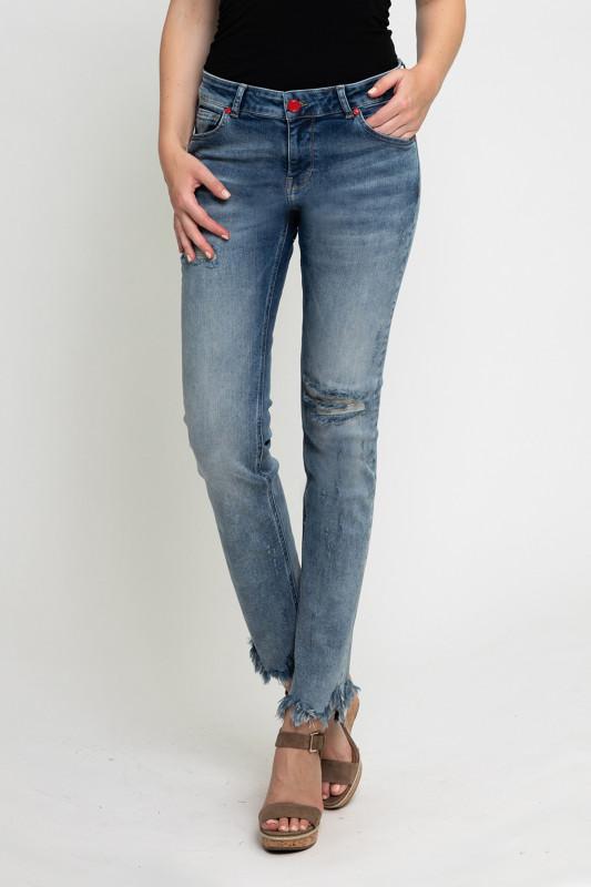"ZHRILL Damen Jeans - ""Nova blue W7405"""