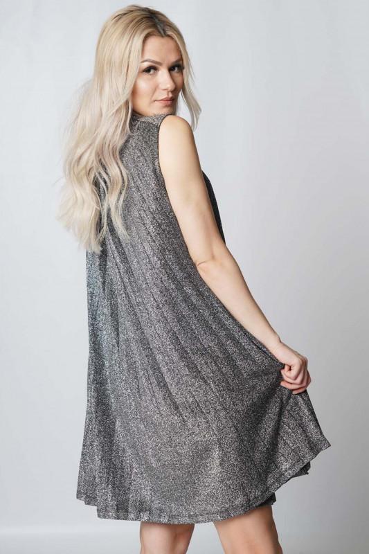 "Guess Damen Kleid - ""Diva Dress black and silver"""