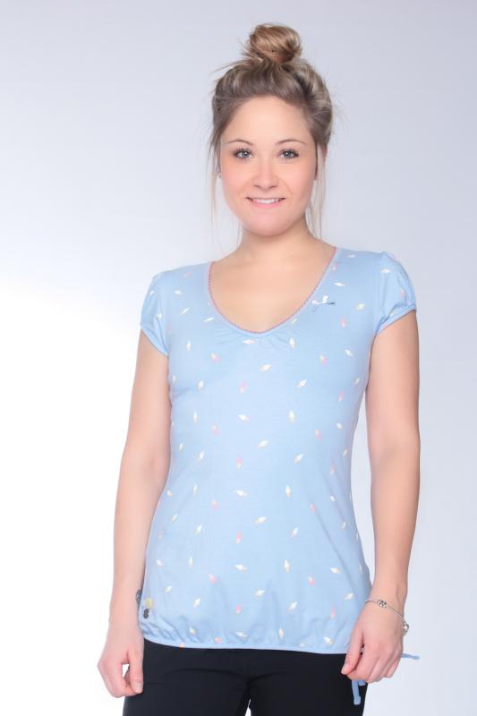 "STRANGE Damen T-Shirt - ""ILI 3 SS angel blue / icecream"""