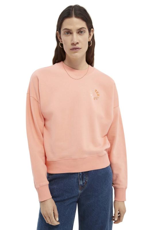 """SCOTCH & SODA Damen Sweatshirt - """"Relaxed Crewneck sweat origani"""""""