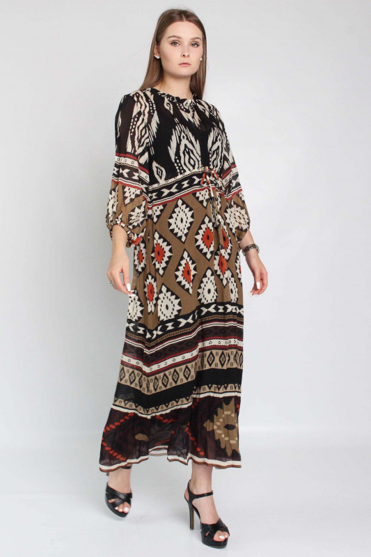 "GRACE Damen Kleid - ""Kleid camel"""