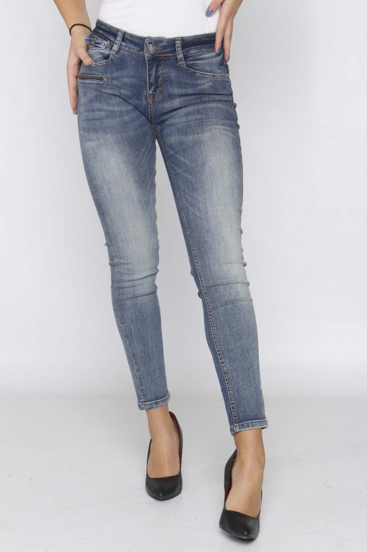 "ZHRILL Damen Jeans - ""Mia blue W7413"""
