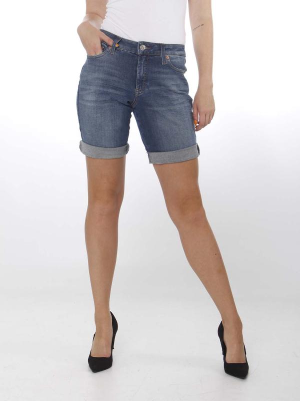 """TOMMY HILFIGER Damen Shorts - """"Mid Rise Denim Bermuda ADY"""
