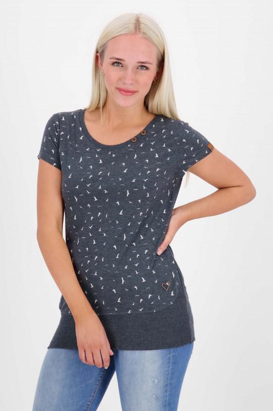 """ALIFE AND KICKIN Damen T-Shirt - """"CocoAK Shirt marine"""""""