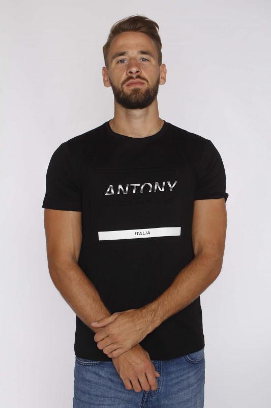 "ANTONY MORATO Herren T-Shirt - ""T-Shirt r-Neck Print FA10014"""