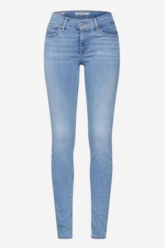 "LEVI'S Damen Jeans - ""Innovation super skinny aviator blue"""