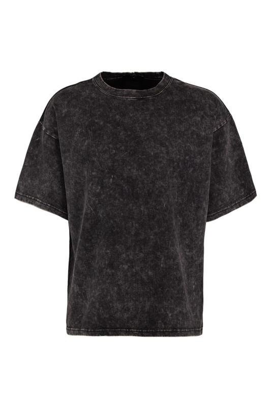 "TIGHA Herren T-Shirt - ""Yorick T-Shirt vint.black"""
