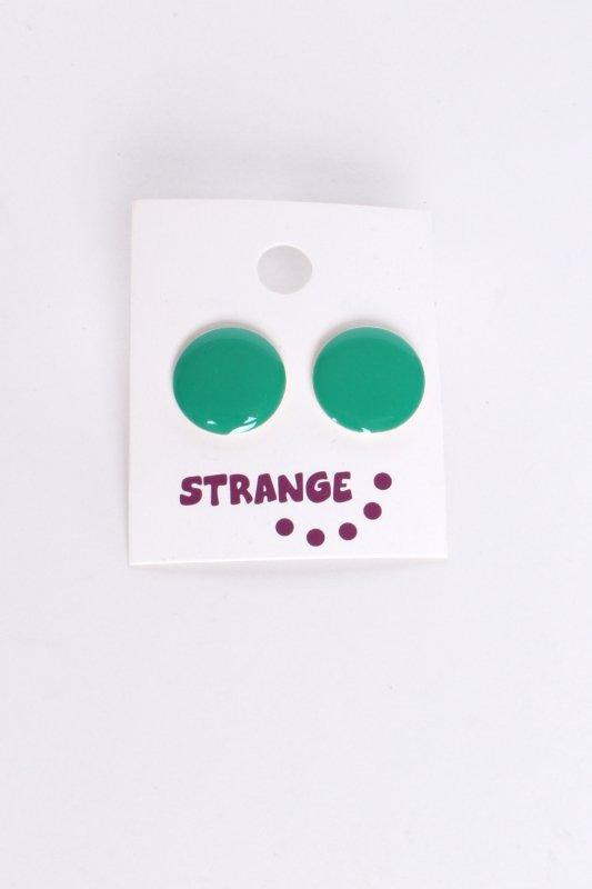 "STRANGE Damen Ohrstecker - ""JANA vivid green"""