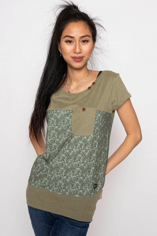 "ALIFE AND KICKIN Damen T-Shirt - ""CORA Shirt dust"""