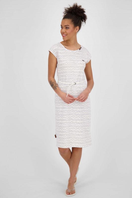 "ALIFE AND KICKIN Damen Kleid - ""MelliAK Dress white"""