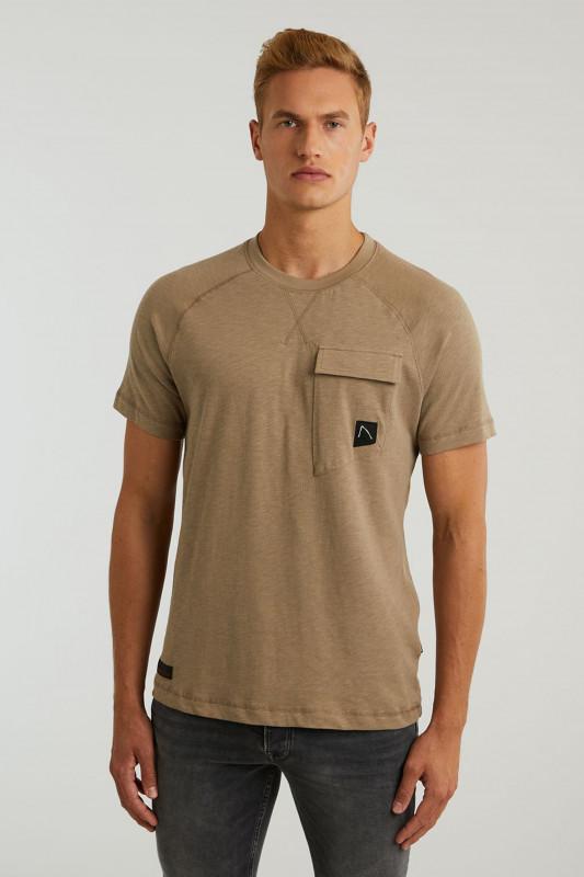 "CHASIN' Herren T-Shirt - ""Daley T-Shirt taupe"""