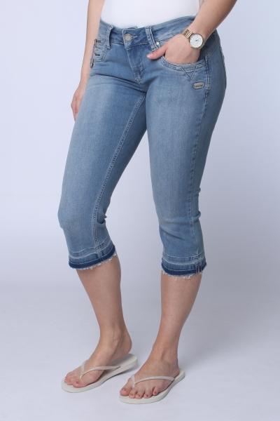 "GANG Damen Jeans - ""Nikita 3/4 Lily Str. blue su"""
