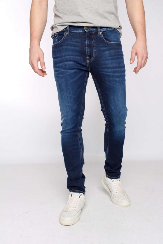 """Tommy Hilfiger Herren Jeans """"Austin slim evdbs dark blue"""""""