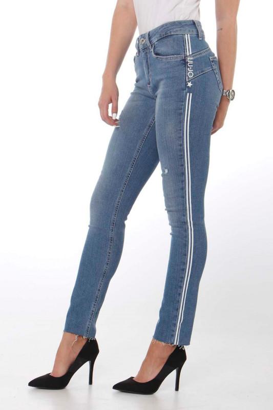 "Liu Jo Damen Jeans - ""B.up ideal h.w. den. blue clea"""