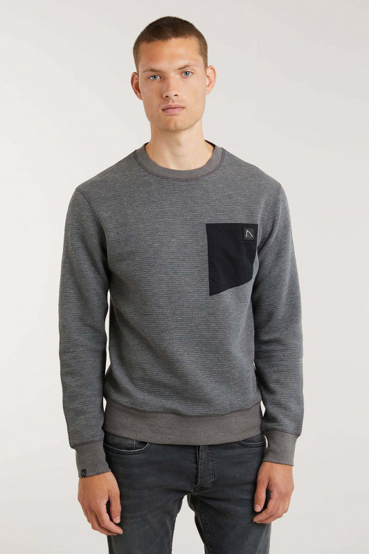 "CHASIN' Herren Sweater - ""Bullet sweat anthra"""