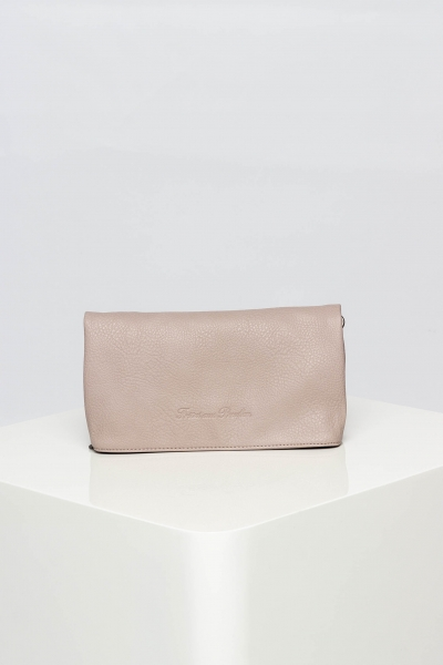 "FRITZI AUS PREUSSEN Damen Clutch - ""Ronja Small Saddle Bag light rose"""