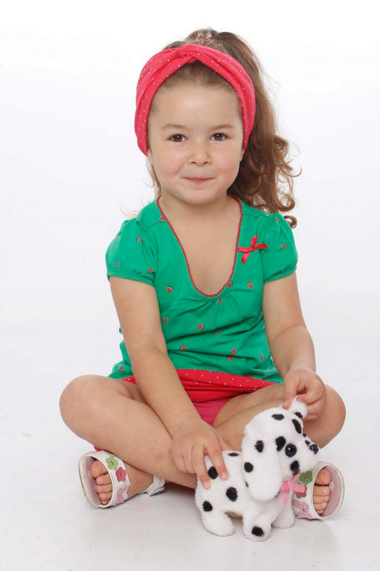 "STRANGE Kinder T-Shirt - ""Kids ILI SS green / melons"""