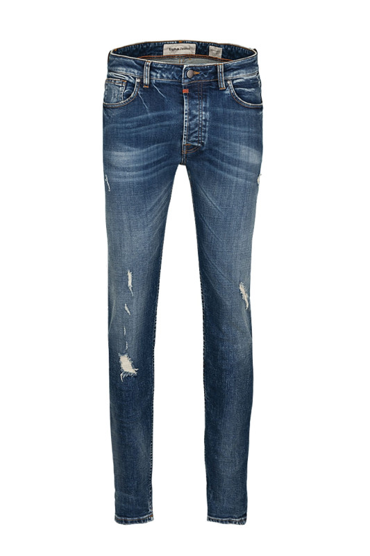 "Tigha Herren Jeans-""Billy the kid 9994 mid blue"""