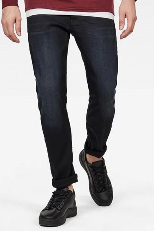 "G-STAR RAW Herren Jeans - ""3301 Slim Denim dk aged Slander"""
