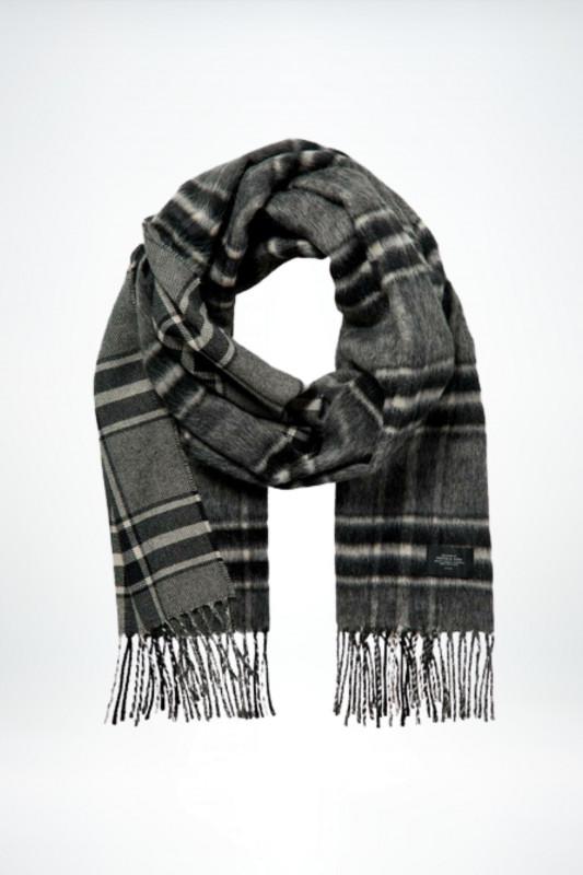 "SCOTCH & SODA Unisex Schal - ""Hairy wool blend scarf in yarn"""
