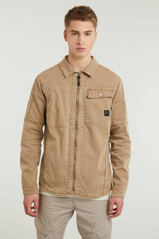 "CHASIN Herren Hemd - ""Oten Shirt LS beige"""