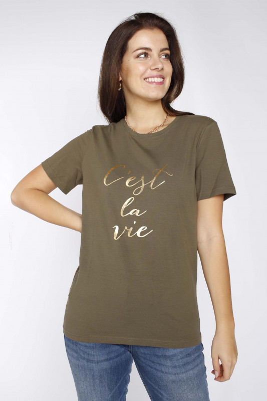 "FREEQUENT Damen T-Shirt - ""Linea-Tee"""
