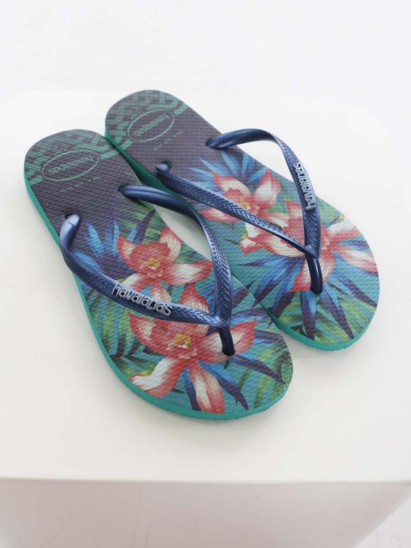 "Havaianas Damen Flip-Flops - ""Slim Tropical mint green"""