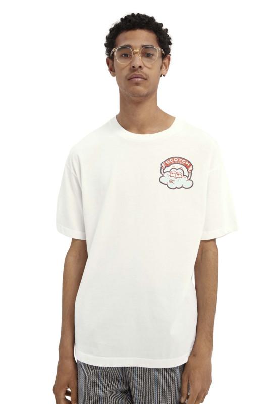"SCOTCH & SODA Herren T-Shirt - ""Organic Cotton Jersey Artwork"""