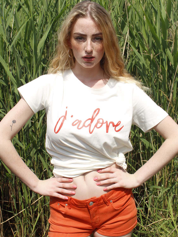 """FREEQUENT Damen T-Shirt - """"COMMA Tee offwhite"""""""