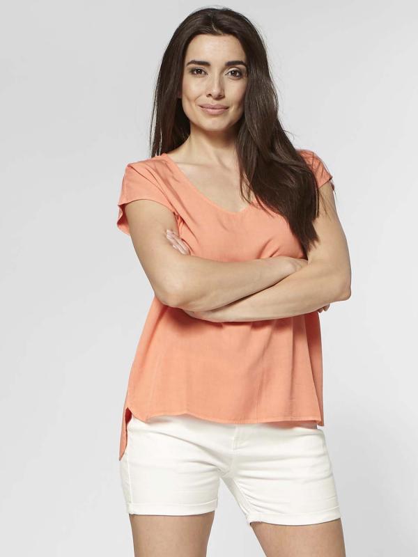 "Circle of Trust Damen T-Shirt - ""Dena Top orange blossom"""