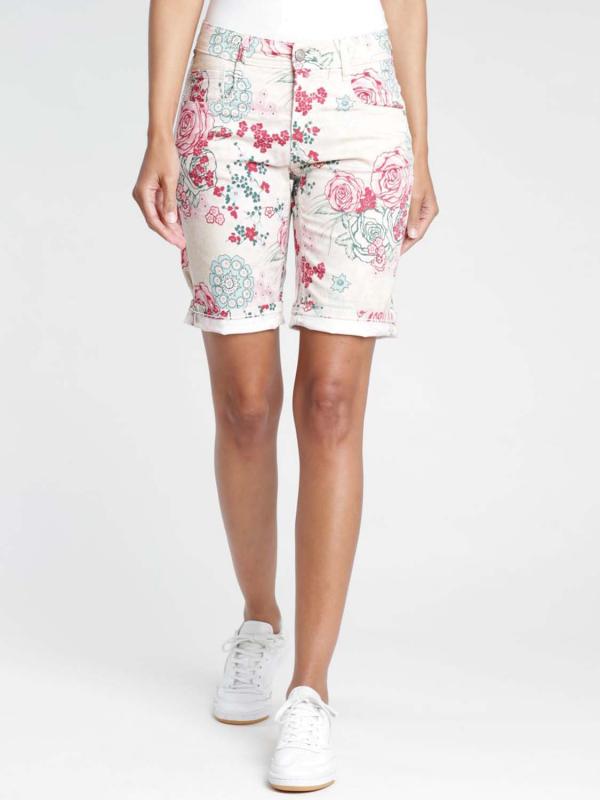 "Gang Damen Shorts - ""Amelie nippon cotton white"""