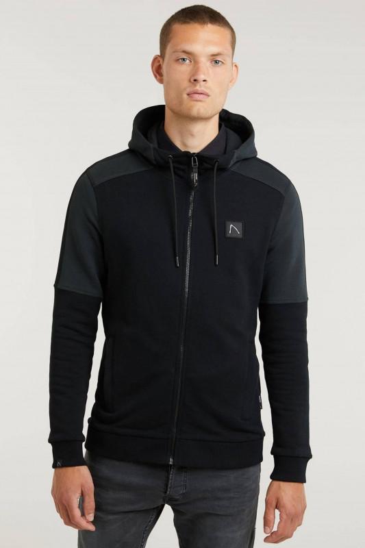 """CHASIN' Herren Sweatshirt - """"Canyon Sweatshirtjacke black"""""""