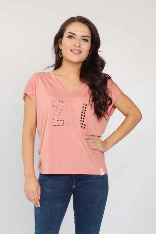 """ZHRILL Damen T-Shirt - """"REJA Rose T6187"""""""
