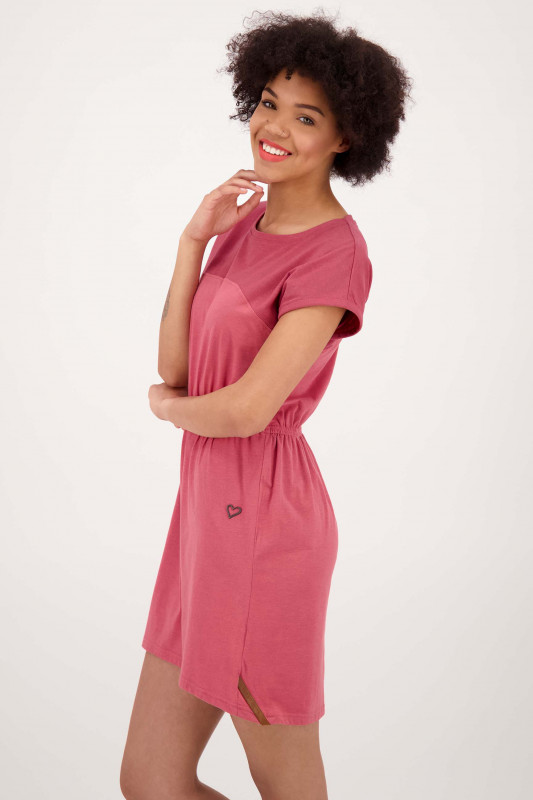 "ALIFE AND KICKIN Damen Kleid - ""ShallyAK Dress cranberry"""