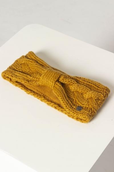 """STRANGE Damen Stirnband - """"SMILLA mustard"""""""