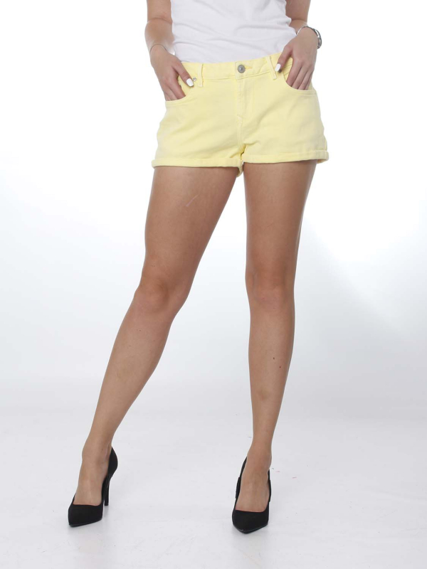 "LTB Damen Shorts - ""Judie lime shade wash"""