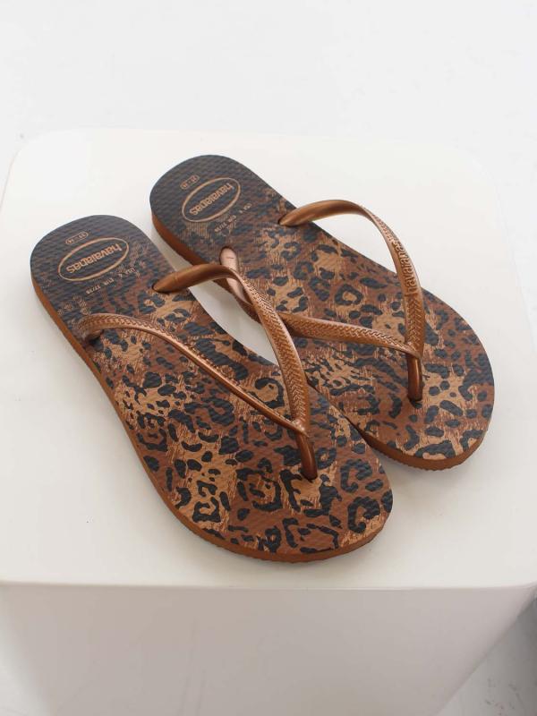 "Havaianas Damen Flip-Flops - ""Hav. Slim Animal rust"""