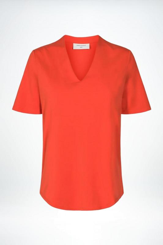 "FREEQUENT Damen T-Shirt - ""YR SS Blouse poinciana"""