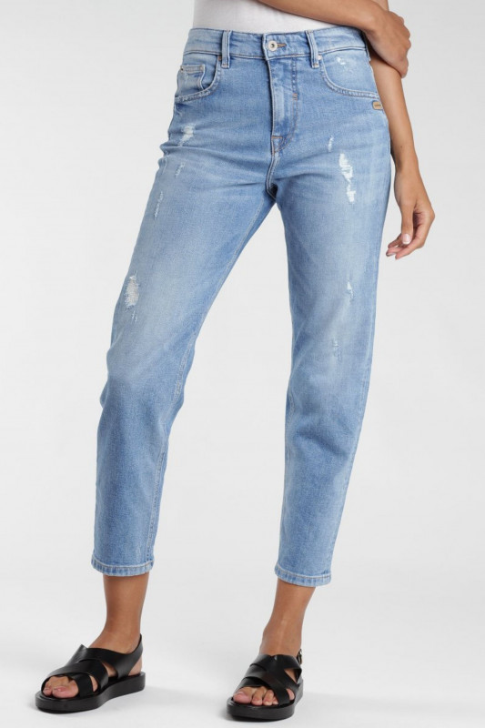 "Gang Damen Jeans - ""Gloria Mom Fit Carrot Fit Jeans summer destroyed"""