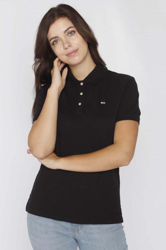 "TOMMY HILFIGER Damen T-Shirt - ""Slim Polo bds"""