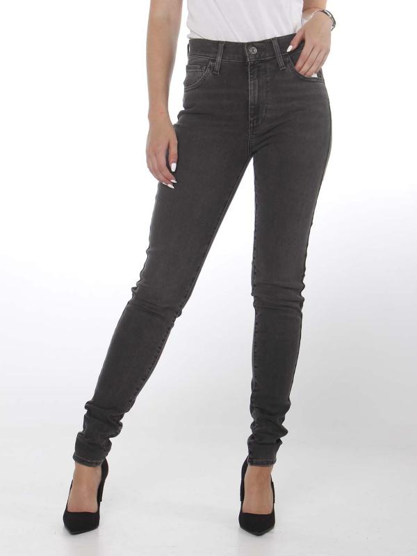 """LEVI'S Damen Jeans - """"720 High rise super skinny grey"""""""