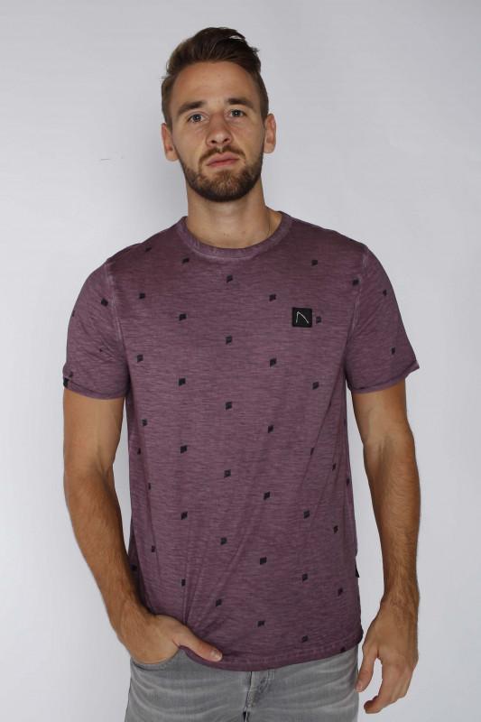 "CHASIN' Herren T-Shirt - ""Baruch burgundy"""