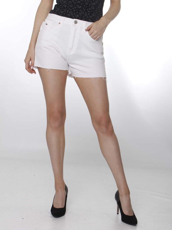 "TOMMY HILFIGER Damen Shorts - ""Denim Hotpants mars white"""