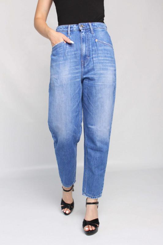 "TOMMY HILFIGER Damen Jeans - ""Mom Jean Dart Uhr TR AE633 dnm"""